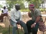 כרמלי עם מנהיג השבט