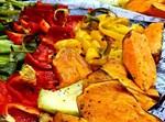 אנטיפסטי - ירקות קלויים