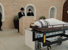 הרב מיכאל לסרי סופד לאחיו