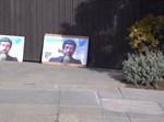 """המחאה מחוץ לביתו של מנכ""""ל טוויטר"""