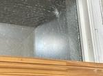 החלון שנפגע