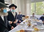 האחים הרבנים בן שמעון בניחום אצל הרב ברכיהו