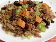 תבשיל כוסמת, אורז וירקות