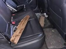 רכב הבלשים שהותקפו בבני ברק