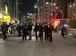 שוטרים בבני ברק לאחר תקיפת הבלשים