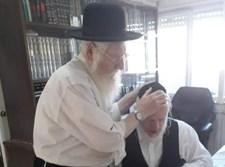 """יהודה משי זהב ואביו זצ""""ל"""