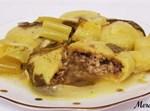 מרק קובה חמוסטה עם סלרי וקישואים