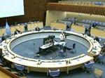 האולם של הועד המנהל של ארגון הבריאות העולמי