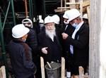 יציקת גג בית הכנסת תפארת ישראל