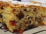 עוגת טורט ופירות יבשים