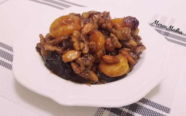 טנזיה – תבשיל פירות יבשים ברוטב מתקתק
