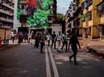 אזרחים ברחובות הודו