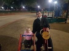 """הרב מילצקי ז""""ל עם בתו"""