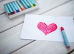 ציור של לב