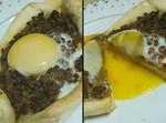 חצ'פורי במילוי בשר ופטריות