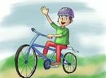 ציור של אופניים