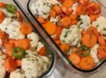 סלט חיסולט – מגוון ירקות בתיבול חמוץ חריף