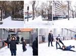 שלג בפריז