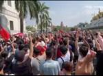ההפגנה במיאנמר
