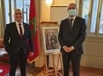 שגריר ישראל עם שגריר מרוקו