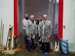 """הגר""""ב לאזאר בביקור במפעלי מזון במערב רוסיה"""