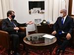 נתניהו עם נשיא קפריסין