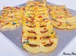 עוגיות צורות חלביות