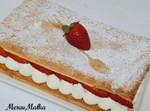 עוגת קרמשניט בתותים
