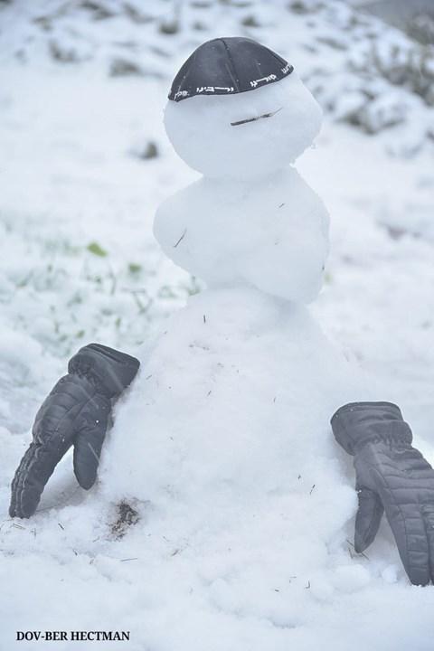 השלג בצפת