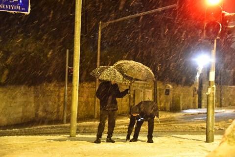השלג הראשון בירושלים