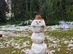 בובת שלג בירושלים