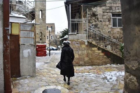 גלריה מסכמת מהשלג בירושלים