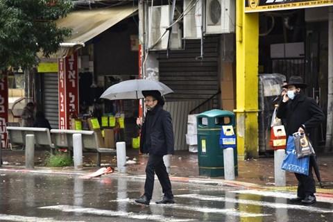 מזג האוויר הסוער בבני ברק