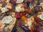 פילה מושט בתנור ברוטב פיקנטי