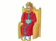 ציור של מלך