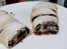 עוגיות מגולגלות שוקולד ואגוזים