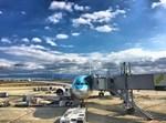 מטוס מתכונן להמראה