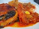 סלונה - דג עם עגבניות שום ונענע