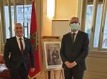שגרירי ישראל ומרוקו באיטליה