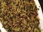 אורז פרסי עם עדשים ומגוון עשבי תיבול