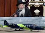 """הגר""""מ קוטלר והמטוס שהביא אותו"""