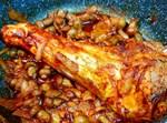זרוע ברוטב בצל ופטריות