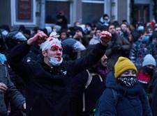 הפגנה ברוסיה למען נבלני