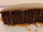 עוגת מוקה וקרמל