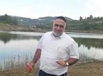 יצחק כרמלי במאגר המים