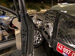 הפגיעה ברכב המשטרתי