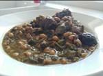חורשט סבזי – קוביות בשר עם שעועית וירק קצוץ