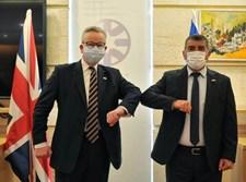 אשכנזי בפגישתו עם השר הבריטי