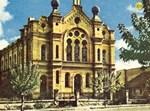 דגם בית הכנסת שמתוכנן