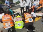 ציר הדמים: התאונה בירושלים